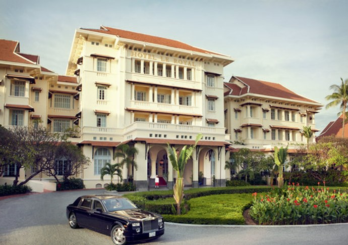 "<strong> Phnom Penh<br> Raffles Hotel Le Royal<br></strong> Cambodia was once dubbed the French Riviera of South East Asia, until it fell under the grips of the genocidal Khmer Rouge regime in the '70s.  Now the country is shaking off its dark past and becoming a destination for visitors who want to explore the incredible UNESCO-listed Angkor Wat temples – or seek relaxation on island escapes or in luxe hotels. Raffles Hotel Le Royal, in the country's capital, Phnom Penh, has set the standard for premium stays. The hotel was built in 1929 and still maintains period and original fixtures, giving it a truly historic and grandiose feel. With its rich Khmer history, royal designs and sumptuous décor, it's no wonder it has a pedigree guest-list of royalty, celebrities and world leaders: Jackie Kennedy, Charlie Chaplin, Barack Obama and Hillary Clinton have all stayed here. <strong><a href=""http://www.raffles.com/phnom-penh/"">www.raffles.com/phnom-penh </a></strong>"