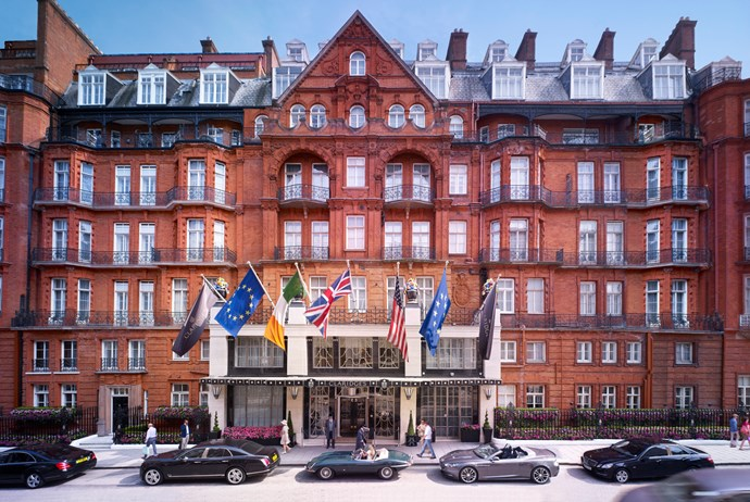"<strong>London <br> Claridge's <br></strong> It's an Art Deco architectural masterpiece with a modern twist and the place for celebrity spotting. Fashion stalwart Diane Von Furstenberg overhauled 20 rooms and suites with her signature bold prints and bright furnishings in 2010, while the remainder of the rooms were reimagined under the master eye of designers David Linley and Guy Oliver. Booking in for a champagne afternoon tea in the magnificent foyer is a must-do – sip bubbles and eat warm scones and clotted cream off pretty fine-bone china. The hotel makes a great base for shopping as it's near iconic Bond Street and Oxford Circus, as well as being dangerously close to the Selfridges & Co department store – a one-stop-shop for high-street chic and designer splurges. <br> <strong><a href=""http://www.claridges.co.uk/"">www.claridges.co.uk  </a></strong>"