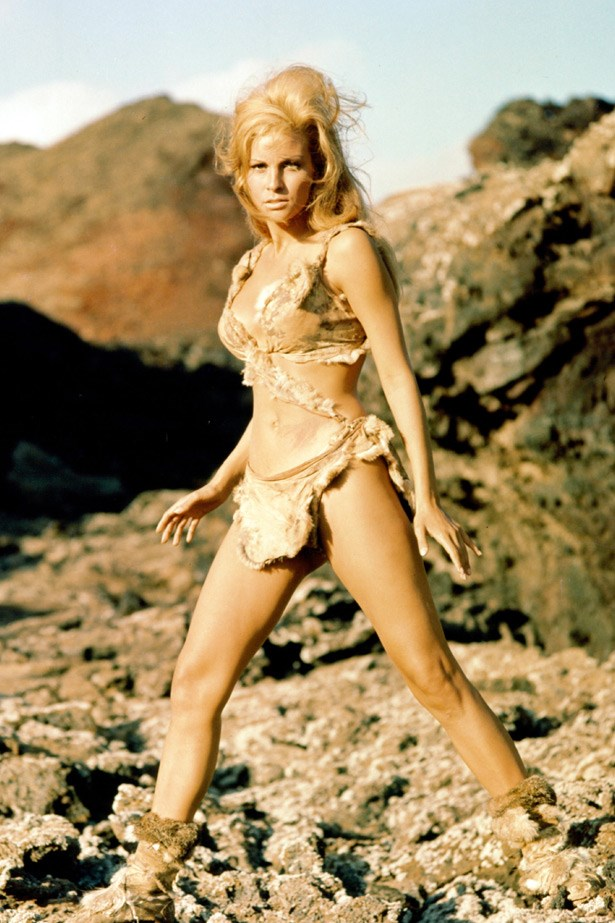 Raquel Welch as a sexy cavewoman in <em>One Million Years B.C.</em> (1966)