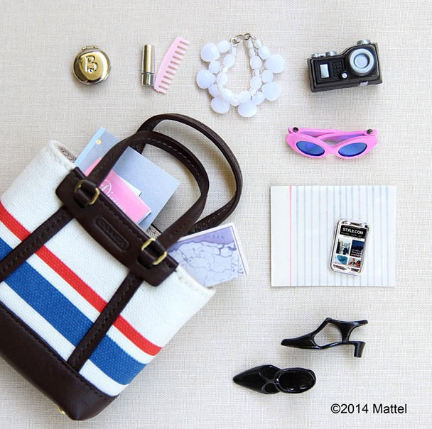 """""""Thrilled to be heading to New York, London, Milan and Paris this September for all four fashion weeks! Starting to prep my travel essentials."""" <br> She even does a great #flatlay shot. We can't wait to follow her fashion week adventures. Follow her @barbiestyle <br><BR> Instagram: @barbietsyle  ✈️"""