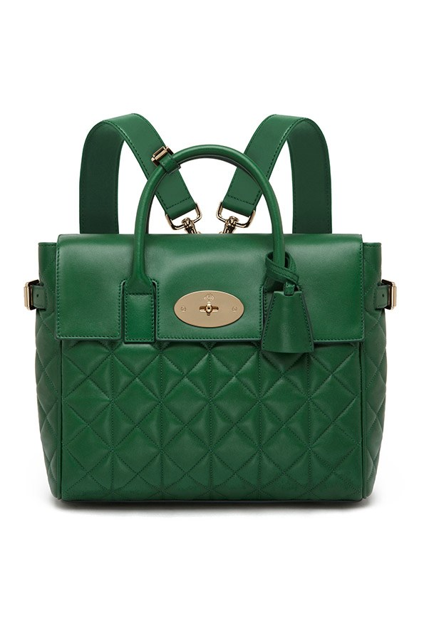 Mulberry Cara Delevingne Bag in Green Quilted Nappa $2,300, 03 9600 4888