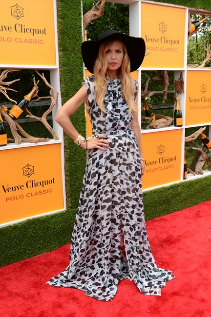 Rachel Zoe does laidback glam at the Veuve Clicquot Polo Classic