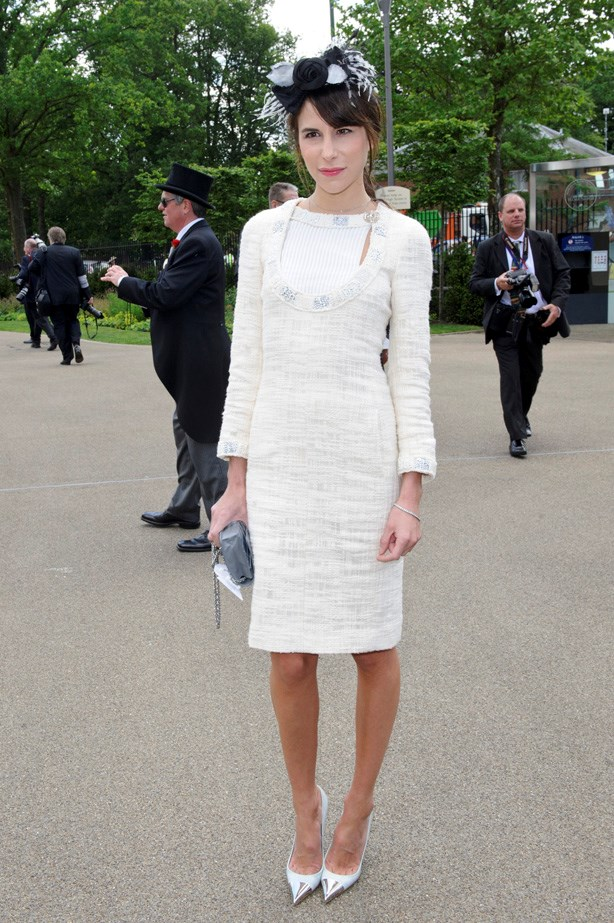 Ladylike perfection: Caroline Sieber at Royal Ascot