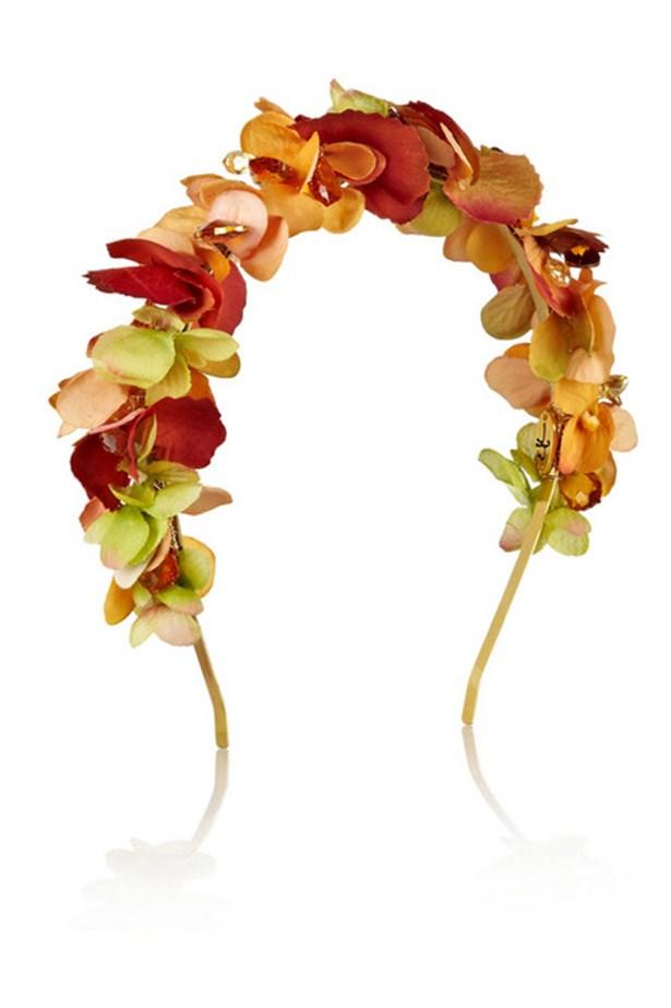 """Headband, $291, Eugenia Kim, <a href=""""http://www.net-a-porter.com/product/444351?cm_sp=we_recommend-_-444351-_-slot6"""">www.net-a-porter.com</a>"""