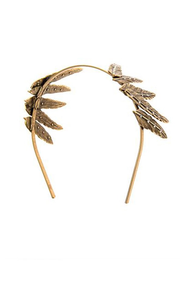 "Headband, $514, Oscar de la Renta, <a href=""http://www.matchesfashion.com/product/201739"">www.matchesfashion.com</a>"