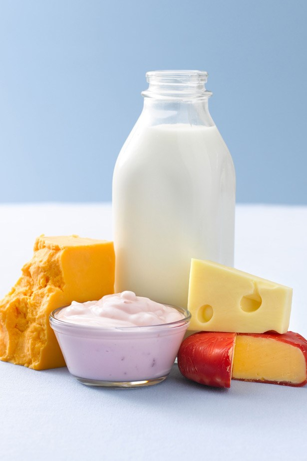 """<strong>Dairy</strong><br><br> Newsflash: You can have our cheese and eat it too! According to research, a calcium-rich diet can actually assist with the prevention of stacking on the kilos. The research suggests that if you're body is too not getting the calcium it needs, it could trigger the release of calcitriol, a hormone that tells the body to store extra fat. Just go easy on the crackers: as we reported last week, carbs are the enemy! <br><BR> <strong>Related links: <a href=""""http://www.elle.com.au/news/beauty-news/2014/9/science-has-spoken-low-carb-diets-rule/ """">Science confirms: Low carb diets rule</a></strong>"""