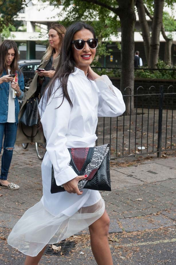 Add a burst of colour to crisp white outfits with a red lip.