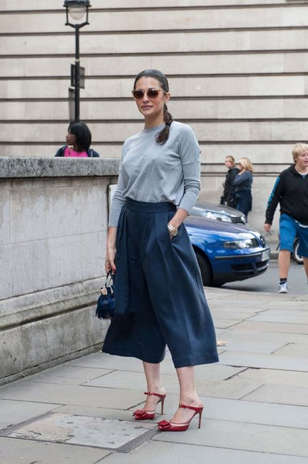 Dress down culottes