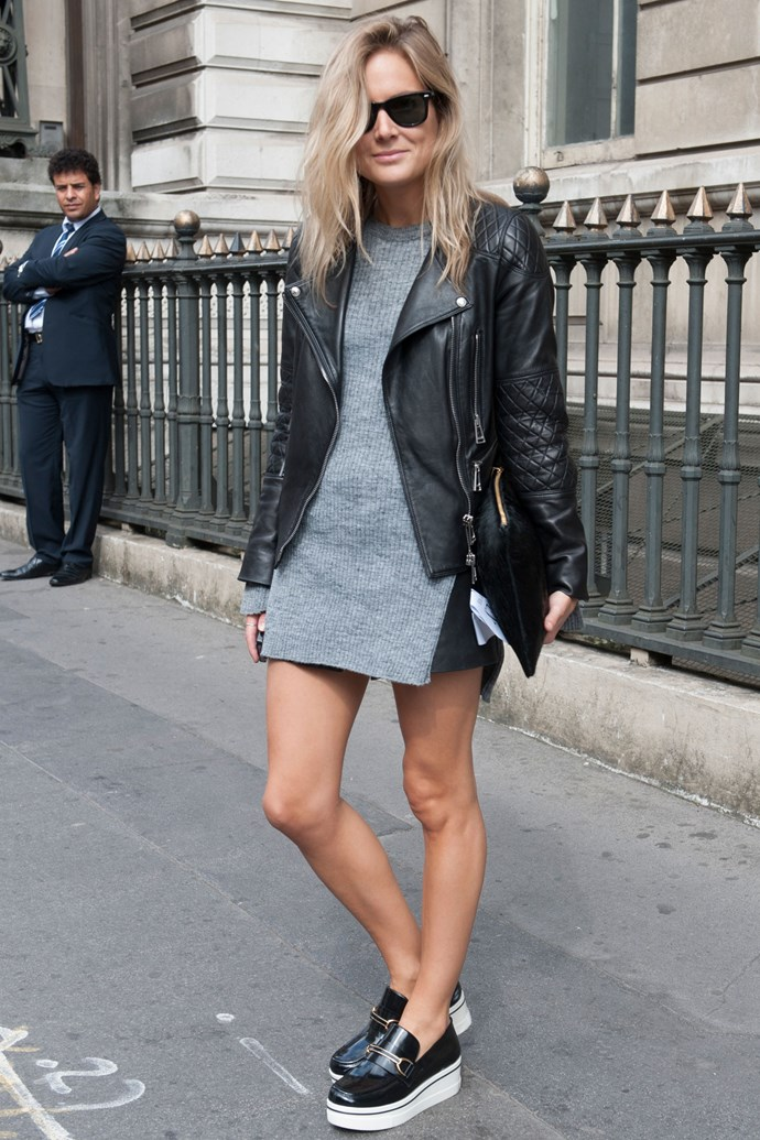 <strong>2. Flat out</strong><br> Flatform sneakers are the cool girl's heel - height AND cred with minimal fuss.