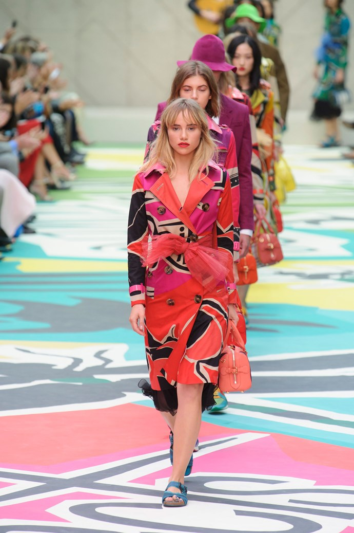 <strong>The model  </strong><br> Suki Waterhouse replaced Cara Delevingne in the show. While Delevingne took a front-row seat alongside her new pal Kate Moss, Waterhouse took centre stage on the runway and had bulbs flashing.