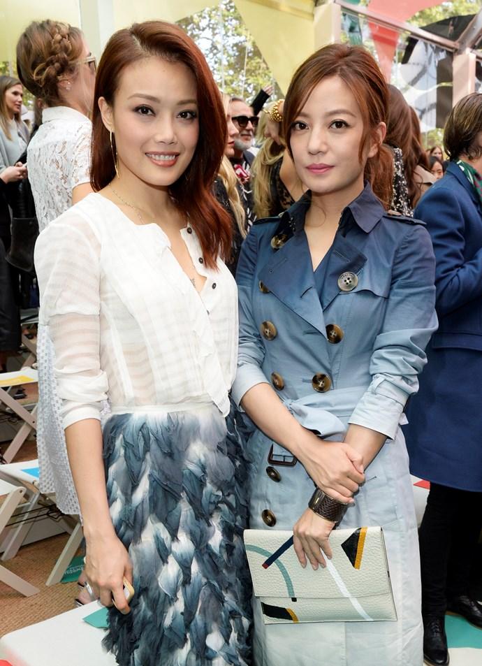 Joey Yung and Vicki Zhao