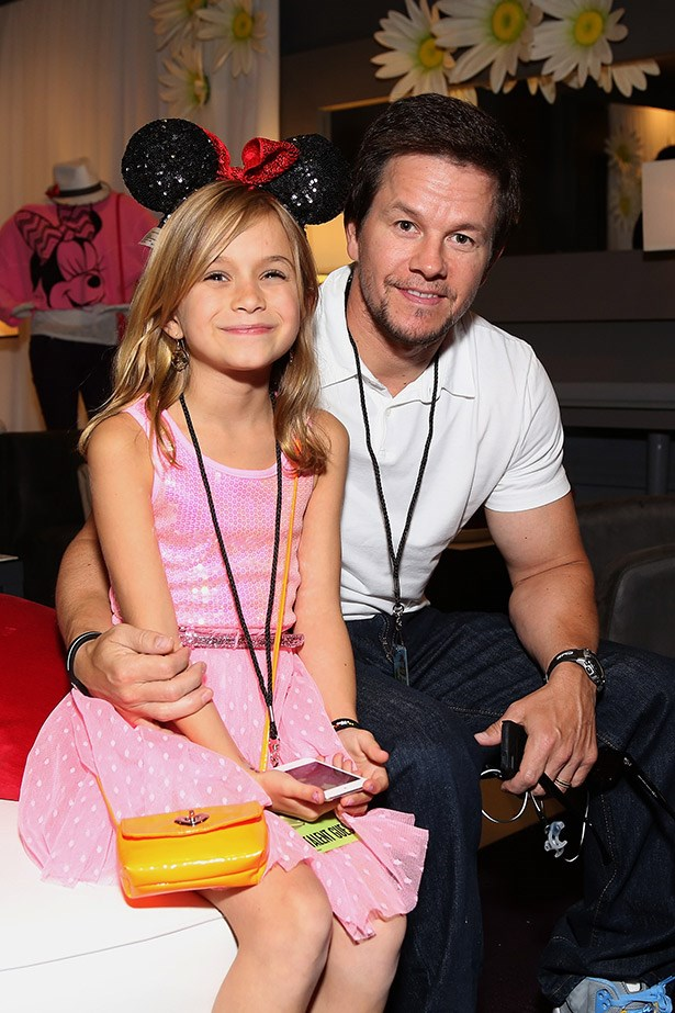 It's hard to find a picture of Mark Wahlberg and daughter Ella (one of his four children) that doesn't melt your heart.