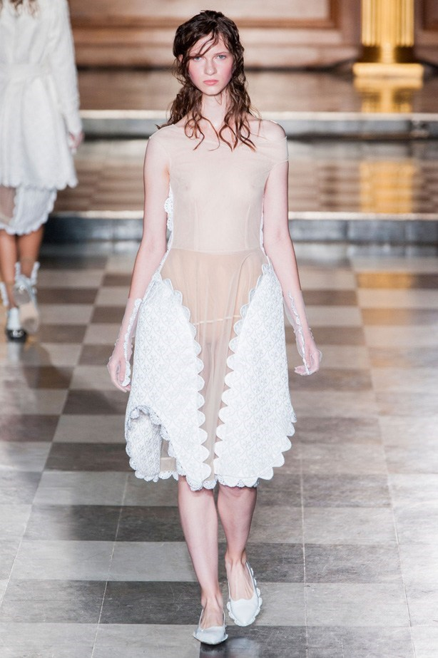 "Simone Rocha SS15<br><br> <a href=""http://www.elle.com.au/runway/ready-to-wear/ss15/2014/9/simone-rocha-ss15/"">See Simone Rocha's full SS15 runway show here >></a>"