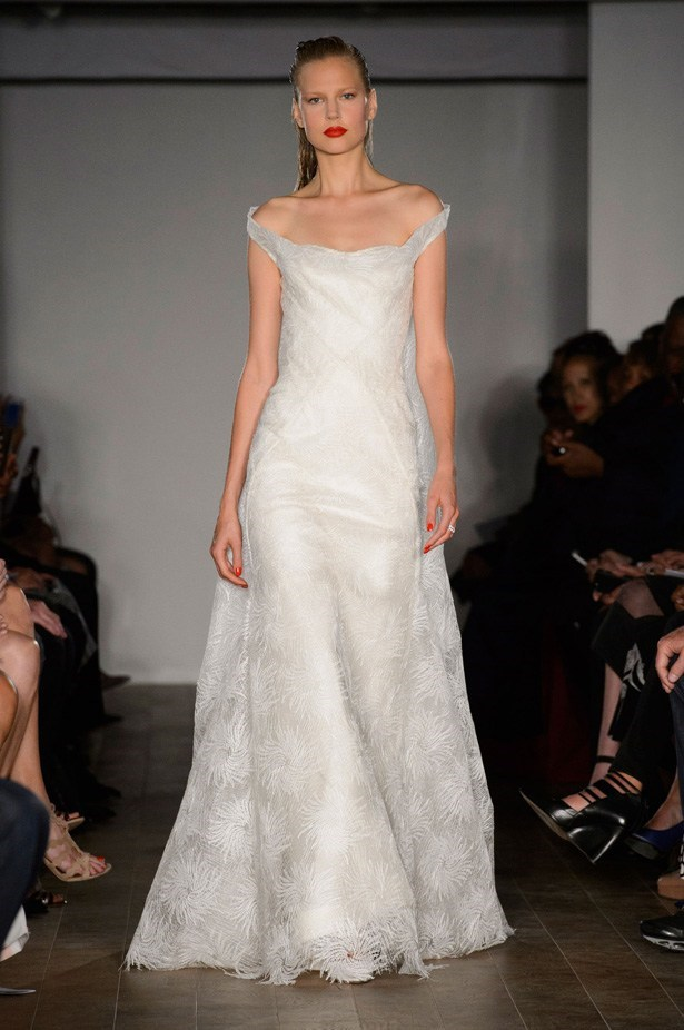 "Zac Posen SS15 <BR><BR> <a href=""http://www.elle.com.au/runway/ready-to-wear/ss15/2014/9/zac-posen-ss15/"">See Zac Posen's full SS15 runway show here >></a>"
