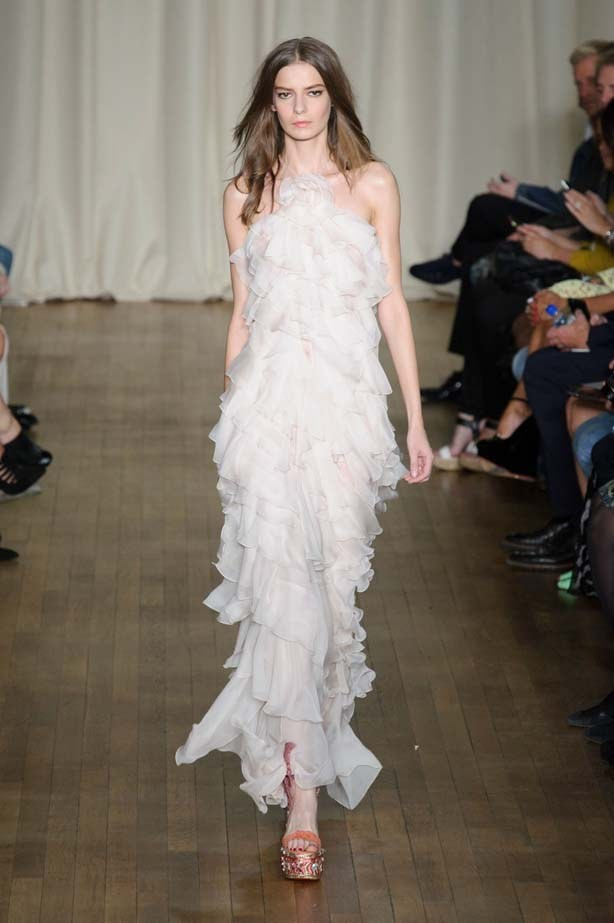 "Marchesa SS15 <br><br> <a href=""http://www.elle.com.au/runway/ready-to-wear/ss15/2014/9/marchesa-ss15/marchesa-ss15-image-1/"">See Marchesa's full SS15 runway show here >></a>"