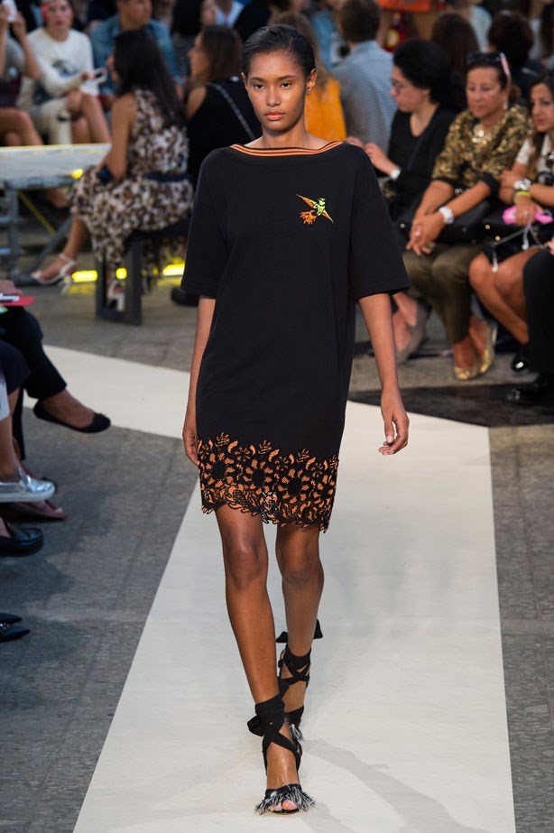 <strong>Designer:</strong> MSGM <br> <strong>Collection:</strong> Spring Summer 2015 <br> <strong>Location:</strong> Milan Fashion Week