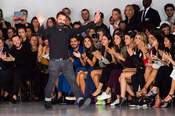<strong>Designer:</strong> Costume National <br> <strong>Collection:</strong> Spring Summer 2015 <br> <strong>Location:</strong> Milan Fashion Week