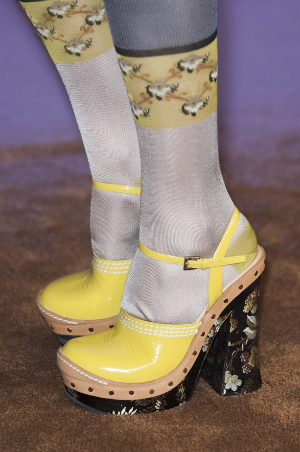 More clogs, glorious clogs, this time by Prada