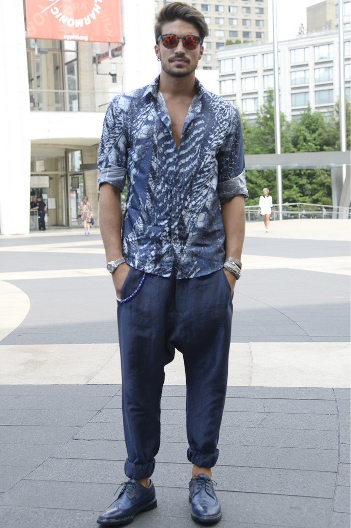 Street style at fashion week