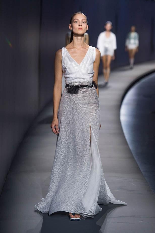 <strong>Designer:</strong> Vionnet <br> <strong>Collection:</strong> Spring Summer 2015 <br> <strong>Location:</strong> Paris Fashion Week