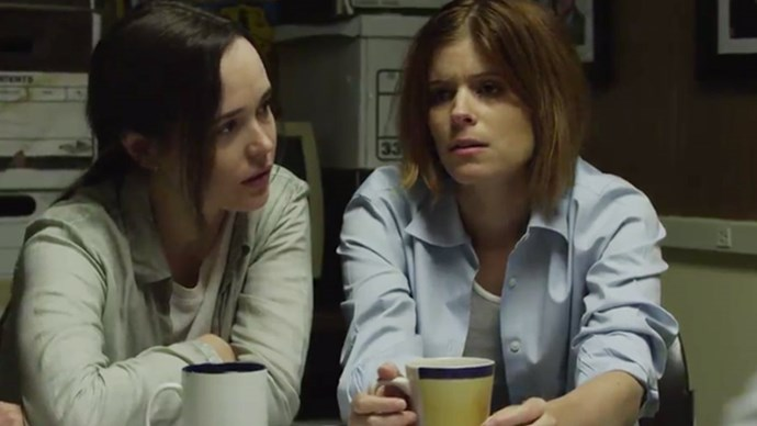 Kate Mara and Ellen Page