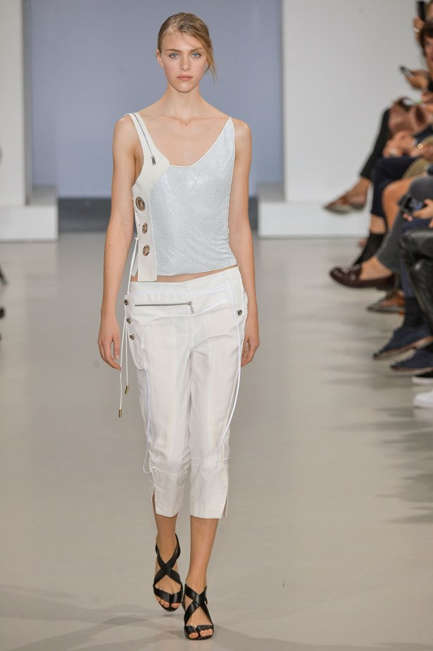 <strong>Designer:</strong>Paco Rabanne<br> <strong>Collection:</strong> Spring Summer 2015 <br> <strong>Location:</strong> Paris Fashion Week