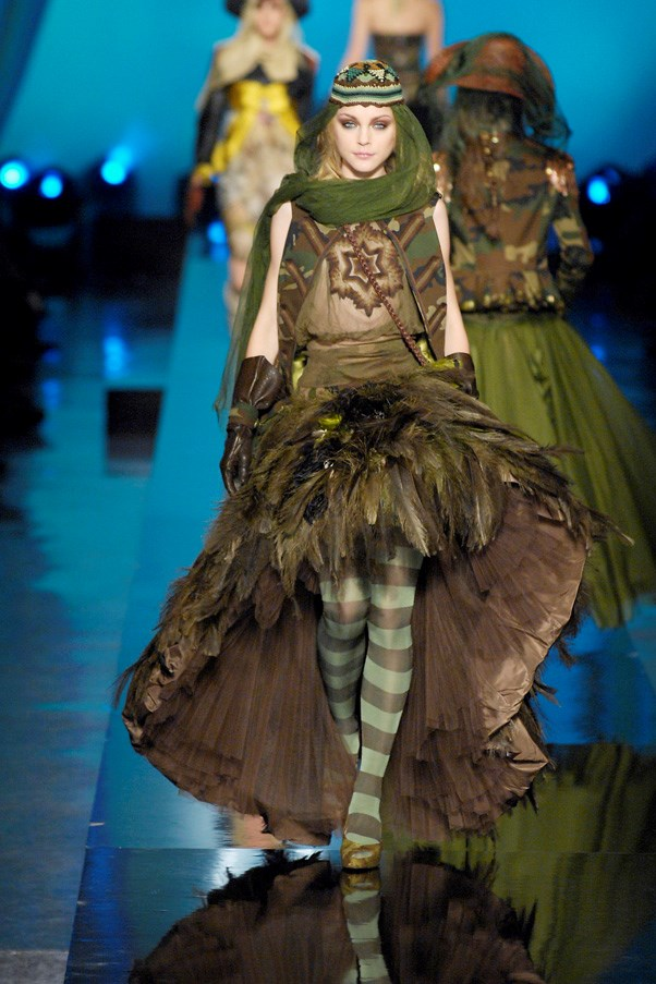 <strong>Urban Jungle</strong><br><br> Beyond Paris and London, Gaultier also drew from influences further afield, from China and Mongolia to Mexico.