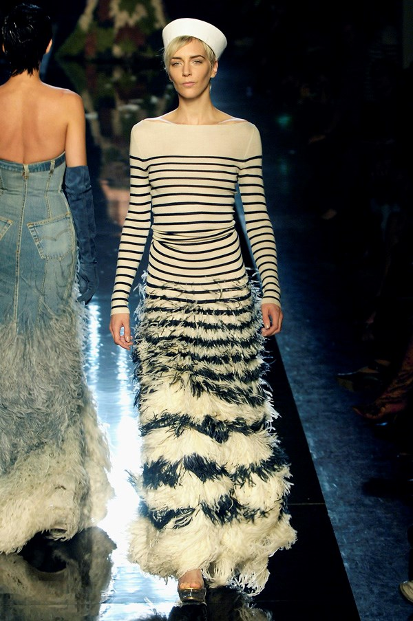 <strong>The Sailor</strong><br><BR> Vive la France! We have Gaultier to thank for our love affair with Breton stripes