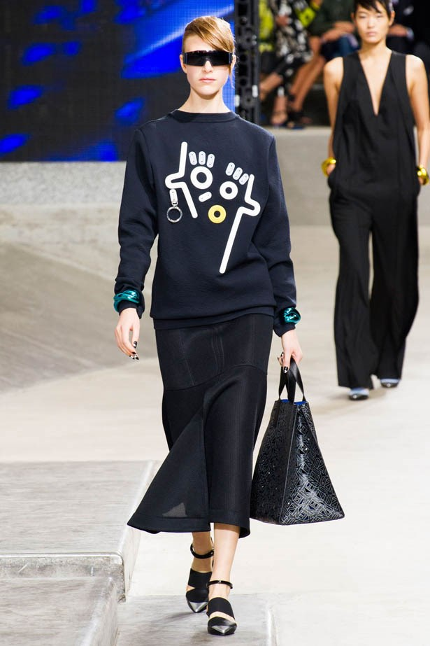 <strong>Designer:</strong>Kenzo<br> <strong>Collection:</strong> Spring Summer 2015 <br> <strong>Location:</strong> Paris Fashion Week
