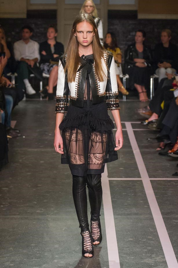 <strong>Designer:</strong> Givenchy<br> <strong>Collection:</strong> Spring Summer 2015 <br> <strong>Location:</strong> Paris Fashion Week