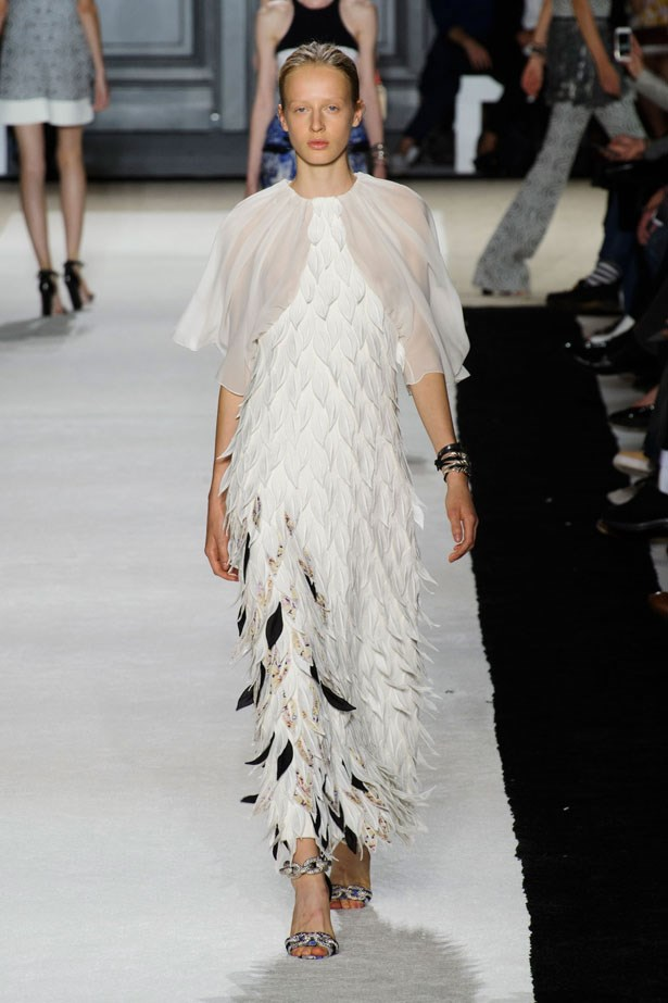 <strong>Designer:</strong> Giambattista Valli <br> <strong>Collection:</strong> Spring Summer 2015 <br> <strong>Location:</strong> Paris Fashion Week