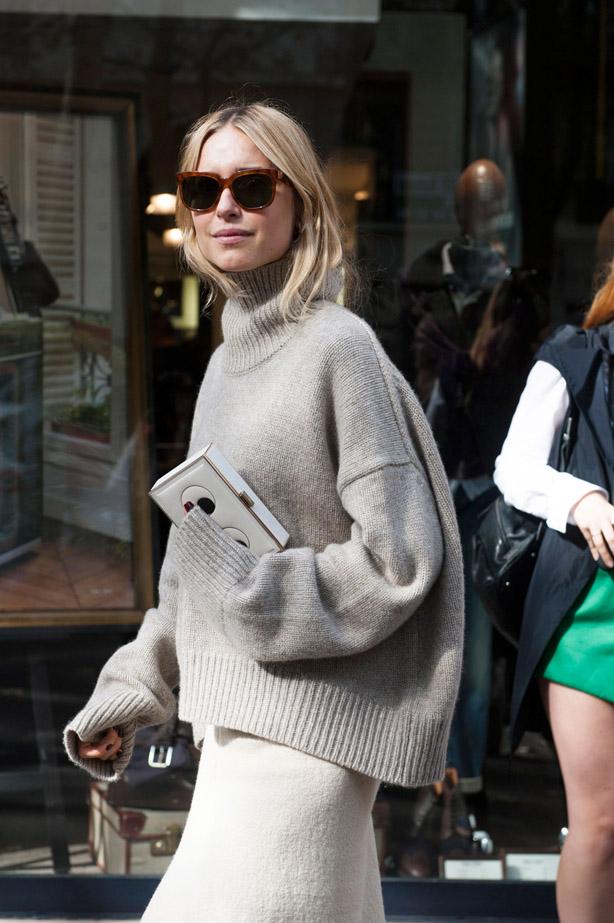 Street Style Paris Fashion Week Ss15 Image 25 Elle