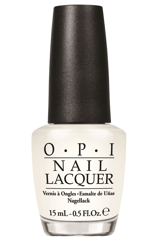 """<p><strong>Elle McClure, Editorial Coordinator </strong><p/> <p>""""The perfect white wash that's an MVP both on its own, and to lighten up other hues.""""<p/> <p> <em>Nail Lacquer in Funny Bunny, $19.95, OPI, 1800 812 663</em><p/>"""