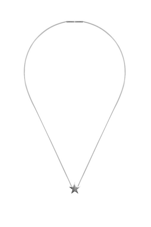 "Necklace, $165, Saskia Diez, <a href=""https://www.mychameleon.com.au/star-necklace-p-2748.html?typemf=women"">mychameleon.com.au</a>"