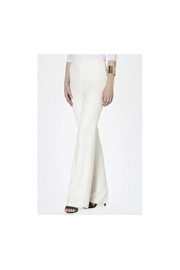 "Pants, $459, Carla Zampatti, <a href=""http://www.carlazampatti.com.au/shop/shop-new-arrivals/pants/148081.0000/Cream-Crepe-Fashion-Flare-Pant.html"">carlazampatti.com.au</a>"
