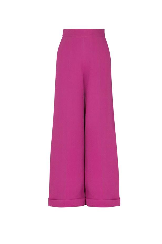 "Pants, $2,322 (approx), Delpozo, <a href=""http://www.net-a-porter.com/product/462497/DELPOZO/wool-crepe-wide-leg-pants"">netaporter.com</a>"