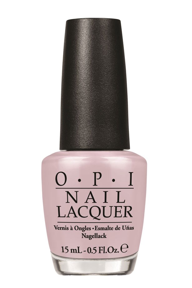 """<p><strong>Vanessa Lawrence, Features Editor </strong><p/> <p>""""Reminds me of budding flowers – perfect for spring.""""<p/> <p> <em>Nail Lacquer in Don't Bossa Nova Me Around, $19.95, OPI, 1800 812 663</em><p/>"""