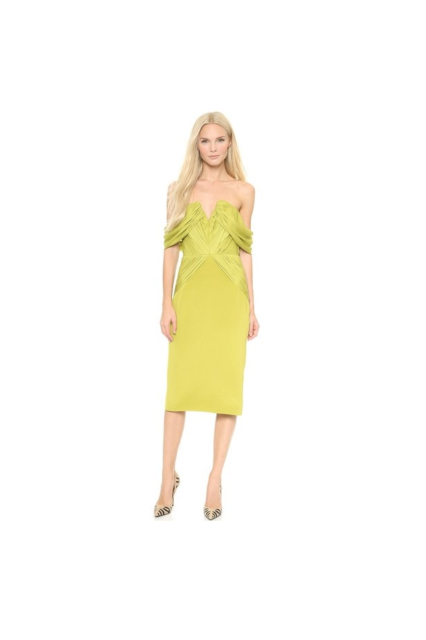 "Dress, $1,946, Cushnie et Ochs, <a href=""http://www.shopbop.com/off-shoulder-dress-cushnie-ochs/vp/v=1/1576879448.htm?fm=search-shopbysize"">shopbop.com</a>"