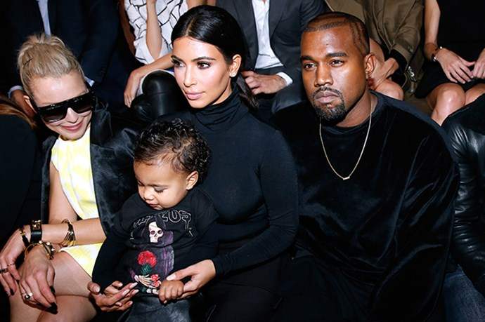"6. North West scored more front row seats than the average senior fashion editor. The well-dressed tot, <a href=""http://www.elle.com.au/news/fashion-news/2014/9/five-things-you-need-to-know-about-paris-fashion-week-so-far/paris-fashion-week-is-here-five-things-you-need-to-know-to-get-you-up-to-speed-image-1/"">with parents in tow</a>, took in the Givenchy, Lanvin, Balmain and Balenciaga SS15 presentations in Paris."
