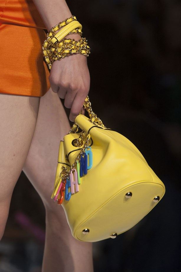 <strong>Designer: Moschino<br> Season: SS15<br> Location: Paris <b></strong>