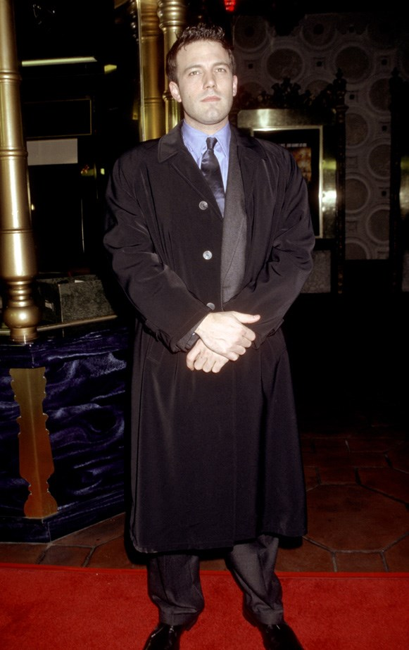 Ben Affleck at the red carpet premiere of 'Reindeer Games' in 2000