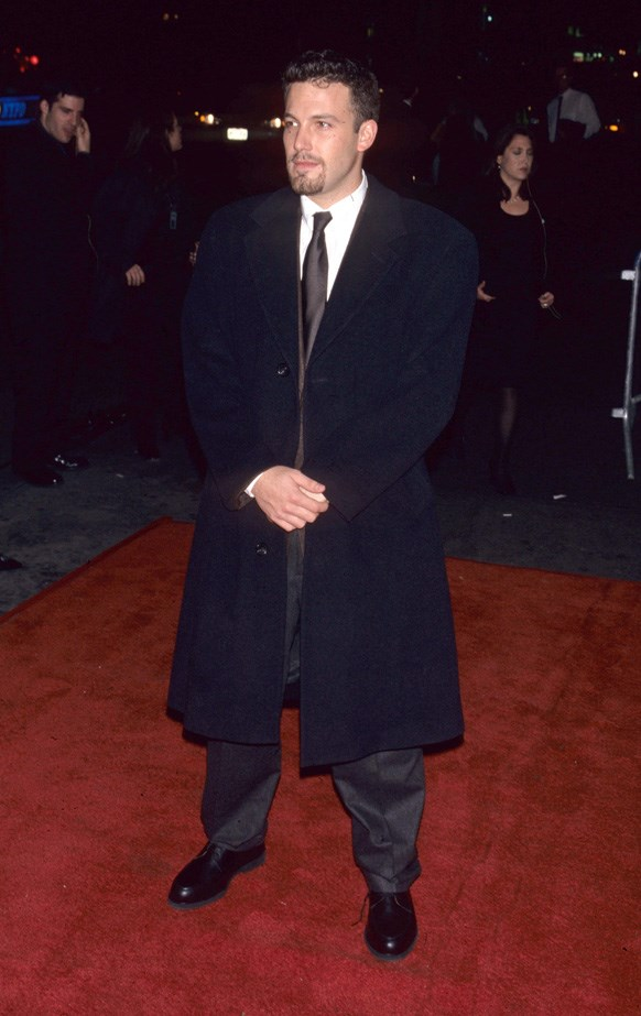 Ben Affleck at the red carpet premiere party of 'Shakespeare in Love' in 1998