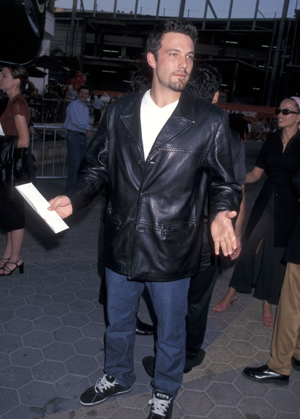 Ben Affleck at the red carpet premiere of 'American Pie' in 1999