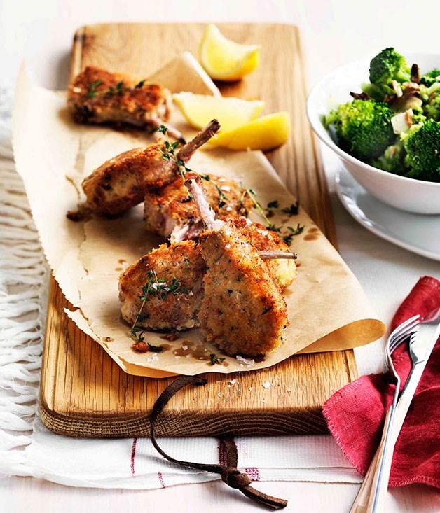 Reform Lamb Cutlets (Breaded Lamb Chops With Ham) Recipe — Dishmaps