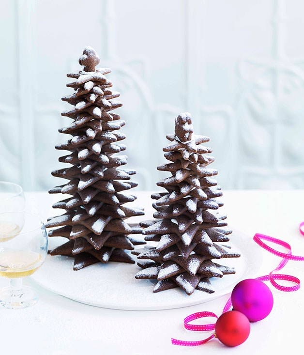 Adriano Zumbo Gingerbread Christmas Trees Gourmet