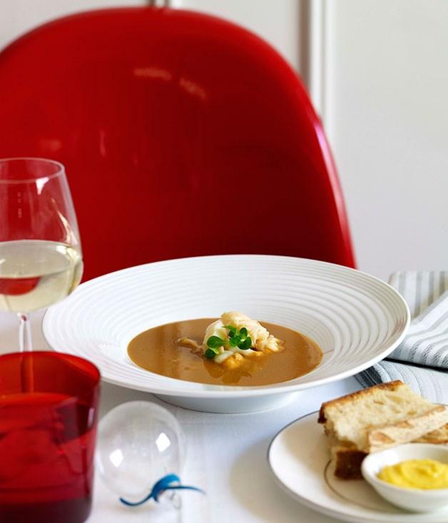 Lobster Bisque Recipes: Lobster Bisque :: Gourmet Traveller