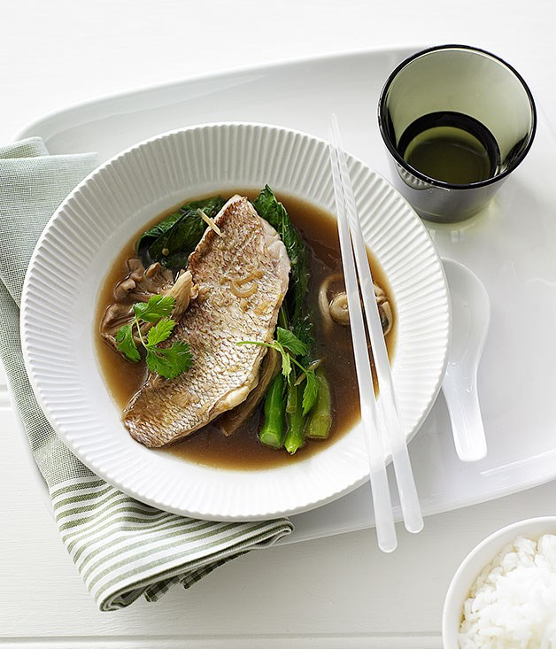 Asian-style Snapper Broth :: Gourmet Traveller