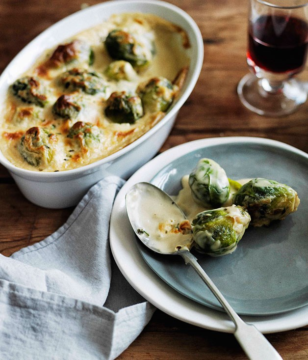 Brussels Sprouts Gratin :: Gourmet Traveller