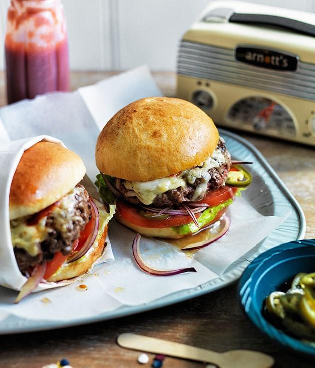 Cheeseburgers recipe | Gourmet Traveller recipe :: Gourmet ...