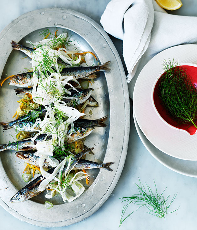 Sardines With Fennel And Orange Recipe French Seafood